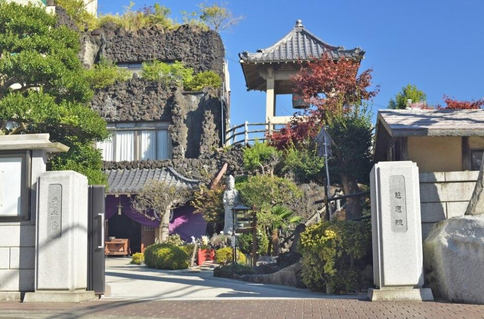 府中本山の入口-2