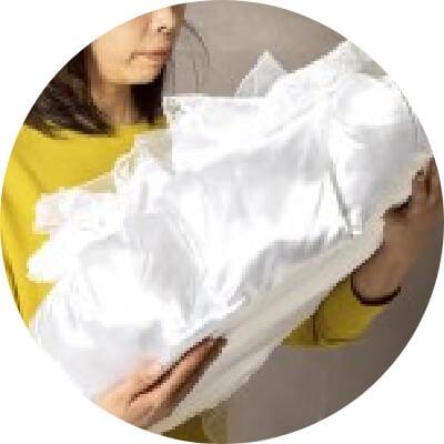 お棺 フラワーコフィン (ホワイト)
