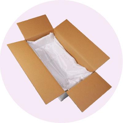 お棺 【紙棺】ダンボール製:お布団つき