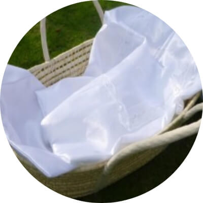お棺 フェアリーバスケット:お布団つき