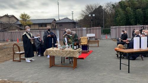 慈恵院の地鎮祭